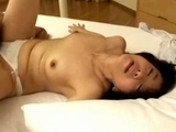 Mature-Woman-Fingered-In-Doggy-Sucking-Cock-Fucked-By-Young-Guy-On-The-Bed
